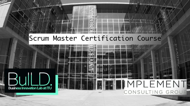 Scrum Master Certification With Implement Consulting Group The